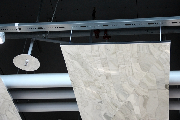 metallkassett undertak krom Stockholmsmassan