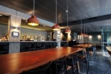 Restaurang Farang, rå sträckmetall